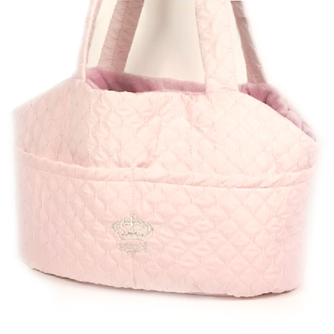 pink Montmatre crossbody dog carrier