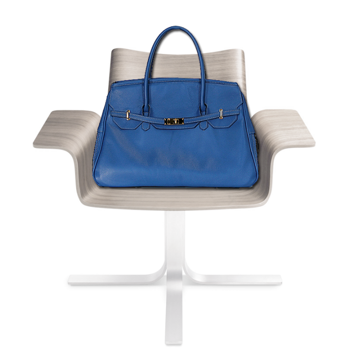 Katie Royal Blue Leather Dog Carrier