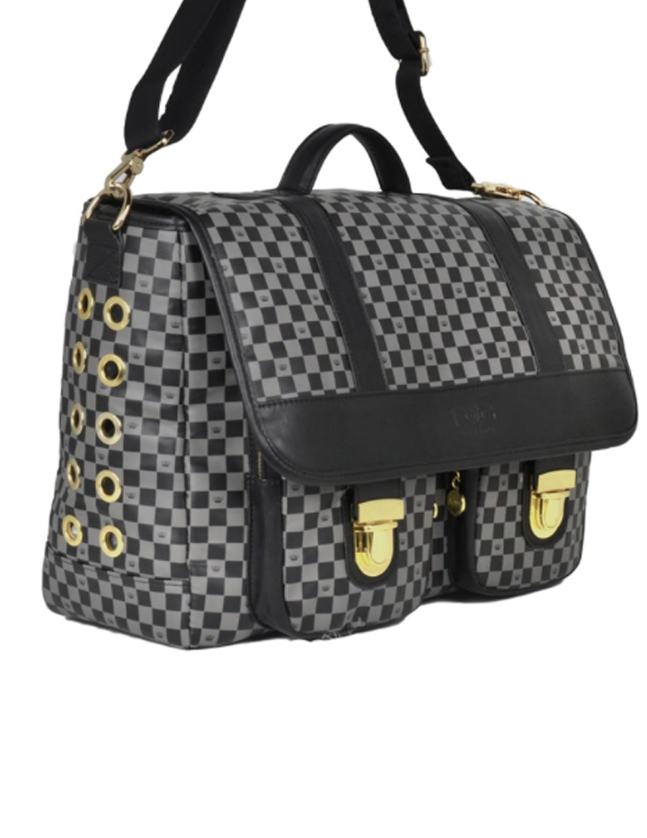 Luxe Check Messenger Designer Dog Carriersdesigner Dog