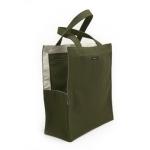Olive green shopping bag dog tote