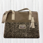 ocelot print travel carrier for small dogs