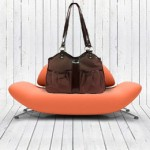 Brown Metro Couture Dog Carrier